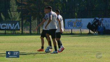 Ponte Preta treina para continuar bem na Série B do Campeonato Brasileiro - Na volta da série B do Brasileiro, a meta da Macaca é não perder o foco.