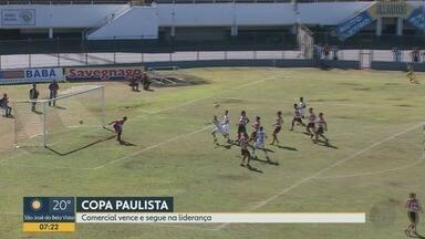 Comercial-SP vence o Linense na Copa Paulista 2019 - Leão do Norte registra segunda vitória e divide a liderança com a Ferroviária.