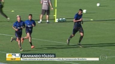 Times ganham fôlego para Brasileirão - Campeonato volta depois da Copa América, semana que vem.Técnicos testam equipes em treinos e jogos amistosos.