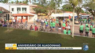 Corrida marca comemorações pelo aniversário de Alagoinhas e pela independência da Bahia - Município fica a 120 quilômetros de Salvador e celebra 176 anos de emancipação política.