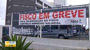 Auditores fiscais da Sefaz estão em greve - A principal reivindicação é a reposição salarial.