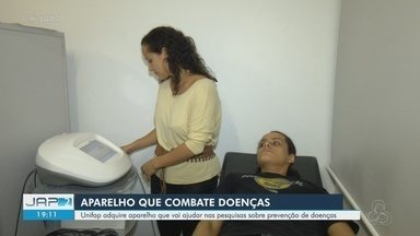 Unifap adquire aparelho que ajuda em pesquisas sobre prevenção de doenças - Conversor Radioelétrico Assimétrico deve ajudar em doenças como, por exemplo, a depressão.