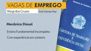 Confira as vagas de emprego no Alto Tietê nesta quarta-feira (3) - Há oportunidades em Mogi das Cruzes, Santa Isabel e Suzano.