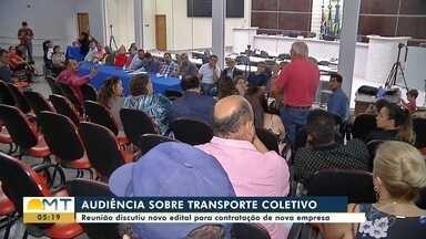 Audiência pública discutiu novo edital para contratação de empresa de transporte coletivo - Audiência pública discutiu novo edital para contratação de empresa de transporte coletivo