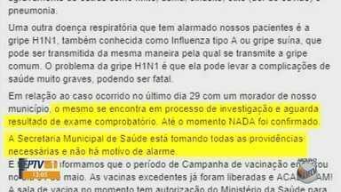 Sul de Minas tem 14 casos confirmados de HIN1 - Sul de Minas tem 14 casos confirmados de HIN1