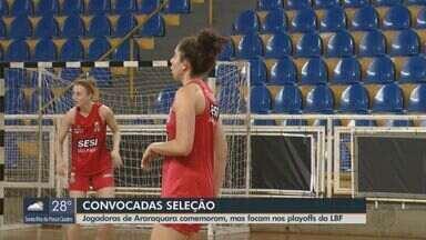 Jogadoras de Araraquara são convocadas pela seleção brasileira de basquete - Pan-Americano ocorre entre julho e agosto em Lima, no Peru.
