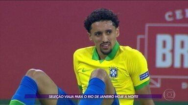 Seleção viaja para o Rio de Janeiro e foca na recuperação de jogadores para a final da Copa América - Seleção viaja para o Rio de Janeiro e foca na recuperação de jogadores para a final da Copa América