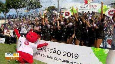 Melhor goleira da Taça das Comunidades era artilheira e demonstra dedicação nos gramados - Mariana Ribeiro tem 13 anos e foi destaque no time do Muquiçaba.