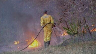 Aumento no número de queimadas prejudica qualidade do ar em Bauru - Para piorar a situação do tempo seco em Bauru, o número de queimadas tem prejudicado ainda mais a qualidade do ar. Os bombeiros tem atendido cerca de 10 ocorrências de queimadas por dia.