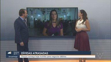 Procon-Santos realiza primeiro mutirão de renegociação de dívidas - Mutirão acontece a partir desta quarta-feira (3), no Centro de Santos.