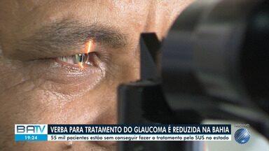 Pacientes encontram dificuldades pra fazer tratamento contra glaucoma na Bahia - Com diminuição de investimentos do Ministério da Saúde, que ocorreu em todo Nordeste, estado deixou de receber R$ 15 milhões.