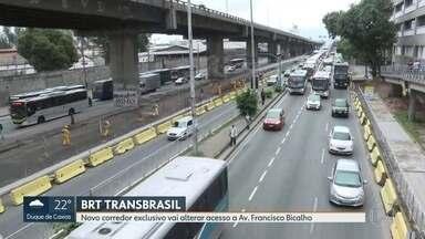 BRT Transbrasil vai fechar acesso da ponte para a Avenida Francisco Bicalho - Prefeitura do Rio diz que não haverá prejuízos pros passafeiros de ônibus e nem para quem usa o caminho, mas não explicou como vai funcionar