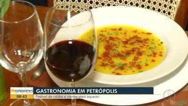 Festivais agitam o fim de semana de Petrópolis, no RJ - Assista a seguir.