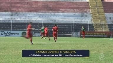 Paulista e Catanduvense se enfrentam pela segunda fase da Segundona - Galo foi o líder da primeira fase, enquanto que o Catanduvense se classificou em quarto lugar em sua chave