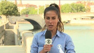 Carol Barcelos fala sobre o clima na França para a Final da Copa do Mundo de futebol feminino - Carol Barcelos fala sobre o clima na França para a Final da Copa do Mundo de futebol feminino
