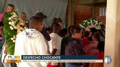 Mãe é suspeita de matar a própria filha na frente dos irmãos em Campos - Crime aconteceu no dia 27 de maio.