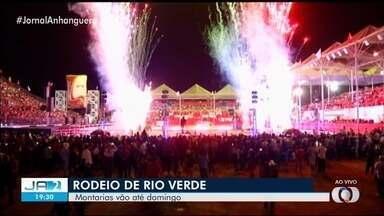 Rio Verde recebe competidores para o principal do rodeio de Goiás - Etapa da disputa é considerada também uma das mais importantes do país.