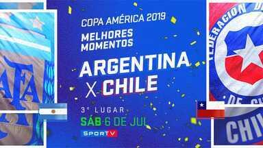 ARG 2 x 1 CHI - 3º lugar - MM - Copa América