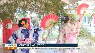 """IFRR realiza programação especial para divulgar a cultura japonesa - """"Tanabata Matsuri"""" ocorre neste sábado, no IFRR Campus Boa Vista."""