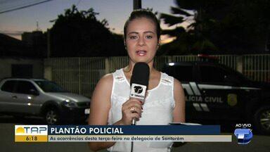 'Giro Policial': veja as ocorrências registradas na delegacia no plantão em Santarém - Casos foram registrados na 16ª Seccional de Polícia Civil. Confira as principais notícias da área policial desta terça-feira (9).