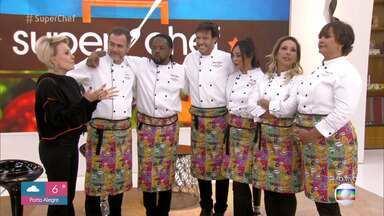 Programa de 09/07/2019 - Valesca Popozuda vence a repescagem e disputa a semifinal do 'Super Chef Celebridades 2019' ao lado de Nando Rodrigues, Solange Couto e João Vitti