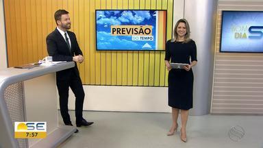 Confira a previsão do tempo para esta terça-feira em Sergipe - Confira a previsão do tempo para esta terça-feira em Sergipe.