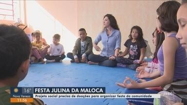 Projeto social precisa de ajuda para realizar festa julina da comunidade - Projeto social precisa de ajuda para realizar festa julina da comunidade