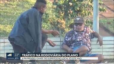 Polícia Militar prendeu quase 150 pessoas por tráfico na Rodoviária do Plano Piloto - As prisões foram feitas do início do ano até ontem, dia 8.