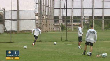 Arnaldo comemora bom desempenho em jogo-treino contra o Santos - Lateral-direito marcou um golaço no jogo de preparação para o início da Série B.