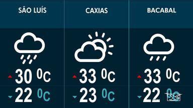 Veja a previsão do tempo no Maranhão - Confira como deve ficar o tempo e a temperatura em São Luís.