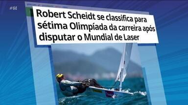 Roberto Scheidt se classifica para Tóquio 2020, sua sétima Olimpíada na carreira - Roberto Scheidt se classifica para Tóquio 2020, sua sétima Olimpíada na carreira
