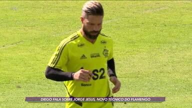 Diego fala sobre Jorge Jesus, novo técnico do Flamengo - Diego fala sobre Jorge Jesus, novo técnico do Flamengo