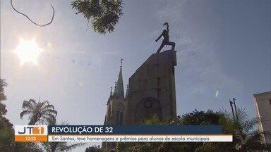 Cidades da região têm homenagens ao Dia da Revolução Constitucionalista de 1932 - Santos e São Vicente tiveram homenagens e premiações.