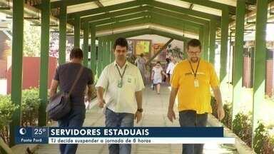 TJ decide suspender jornada de 8 horas de servidores estaduais - Em Mato Grosso do Sul.