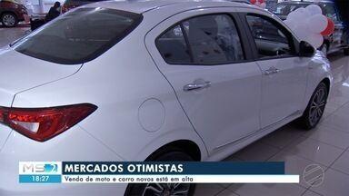 Vendas de moto e carro novos estão em alta em MS - Em Mato Grosso do Sul.