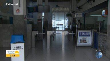 Terminal Marítimo mantém suspensão da travessia Salvador-Mar Grande por causa do mau tempo - Esse é o quarto dia sem o serviço, por causa das fortes chuvas que estão caindo e da ventania.