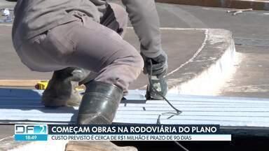 Começam obras na Rodoviária do Plano Piloto - Contrato tem valor de R$1.192 milhão e prazo é de 90 dias.