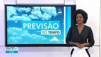 Confira a previsão do tempo para Salvador e o interior do estado - Os ventos continuam fortes em todo o estado, principalmente no litoral baiano.