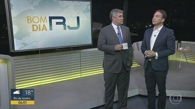Bom Dia RJ - Edição de quinta-feira, 11/07/2019 - As primeiras notícias do Rio de Janeiro, apresentadas por Flávio Fachel, com prestação de serviço, boletins de trânsito e previsão do tempo.