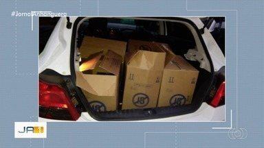 Polícia faz operação contra roubo de cargas no Entorno do DF - Onze pessoas foram presas.