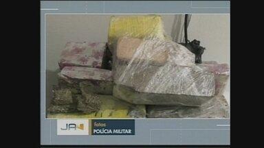 PM apreende quatro quilos de maconha em operação em Chapecó - PM apreende quatro quilos de maconha em operação em Chapecó