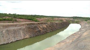 Relatório aponta erros e desperdícios na transposição do rio São Francisco - Documento também aponta outros erros na execução da obra e possíveis dificuldades na gestão e na distribuição de água.
