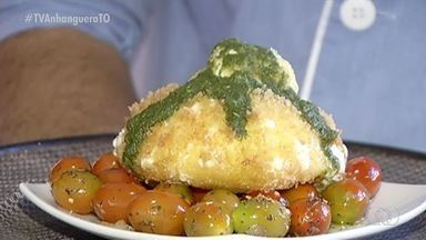 Aprenda a fazer uma deliciosa burrata empanada no Jornal do Campo - Aprenda a fazer uma deliciosa burrata empanada no Jornal do Campo