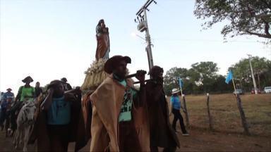 Força e fé na festa do vaqueiro em Aroazes - Força e fé na festa do vaqueiro em Aroazes