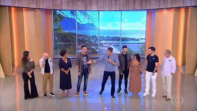 Programa de 14/07/2019 - O 'Tamanho Família' desta semana está sob medida. Márcio Garcia vai receber Marco Luque e Alok no palco do programa.