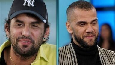 Irmão de Daniel Alves comenta o estilo do jogador - Júnior Alves diz que o irmão é muito seguro de si