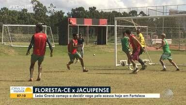 Juazeirense e Jacuipense têm jogos importantes nesta segunda-feira, pela série D - Confira as últimas informações dos times antes das partidas.