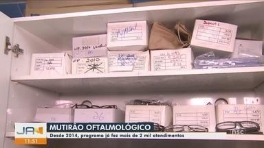 Mutirão realiza atendimento oftalmológico a crianças em Florianópolis - Mutirão realiza atendimento oftalmológico a crianças em Florianópolis
