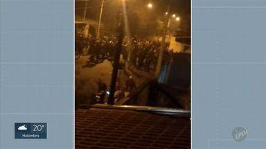 Polícia Civil investiga disparos em festa rave que deixou quatro pessoas feridas em Sumaré - Policiais do 1º DP tentam identificar invasores que causou confusão durante festa no fim de semana.