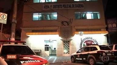Polícia de Diadema apreende três menores que participaram de vários assaltos em SP - Em um dos assaltos, um mecânico de 39 anos morreu.